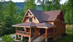 Whittier Cabin Rental: Luxury Mountain Cabin**panoramic Views**large Porch**hot Tub**wifi**   HomeAway