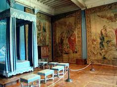 Bedroom from Palazzo Ducale in Torino, this is the place where La Duca gave birth to her only daughter with Nesle.