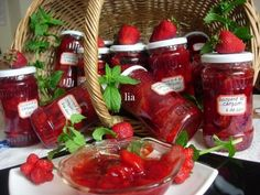 Preserves, Salsa, Gem, Strawberry, Sweets, Canning, Food, Drink, Falling Down