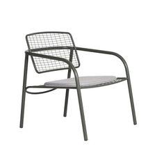 Eija Metal Chair Gartenstühle, Lounge Stühle, Außenmöbel, Stuhl Design,  Möbeldesign,