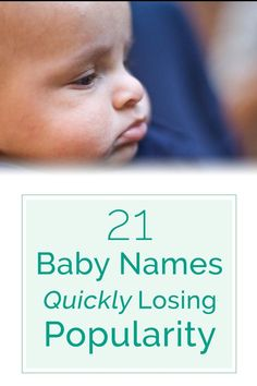 "Check out these 21 baby names that might be the next ""Norma"" or ""Fred"" » #babynames"
