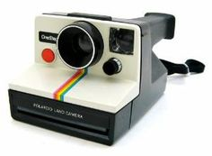 A Polaroid camera. Man, I would feel so cool owning one of these. I could send people printed pictures so much easier!