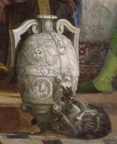 '' The wedding at Cana '' (detail of cat) Oil on canvas by Paolo Veronese Verona, Close Up Art, Curious Creatures, Paintings I Love, Detail Art, Renaissance Art, Pretty Art, Religious Art, Art Plastique