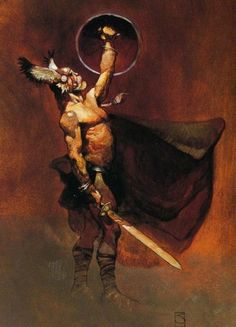 Jeffrey Catherine Jones (1944 - 2011) Artista e ilustrador estadounidense.