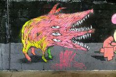 #bault - #streetart #streetartparis #paris13 #citedelamode oct 2014