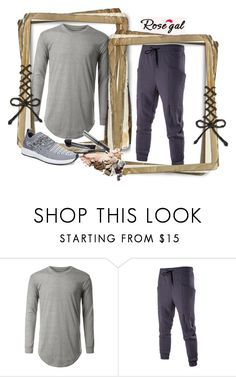 """""""ROSEGAL 32 !"""" by jasmine-monro ❤ liked on Polyvore featuring men's fashion, menswear, Sweater, pants, sneakers and rosegal"""