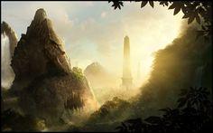 The Lost valley by TamplierPainter.deviantart.com on @deviantART