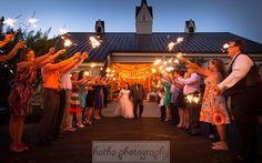 """Love is friendship set on fire.""~~~Jeremy Taylor  #wedding #rusticwedding #barn #barnwedding #sparklers"