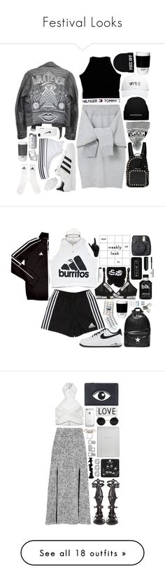 """""""Festival Looks"""" by stalyingwmabel ❤ liked on Polyvore featuring ROOM COPENHAGEN, Le Ciel Bleu, October's Very Own, NIKE, adidas Originals, Converse, Valentino, vintage, Urban Outfitters and adidas"""