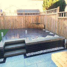 Moodul Concrete Walling Blocks - Black 600 x 300 Single Size Backyard Patio Designs, Outdoor Kitchen Design, Garden Inspiration, Garden Ideas, Outdoor Furniture, Outdoor Decor, Garden Design, Concrete, Contemporary