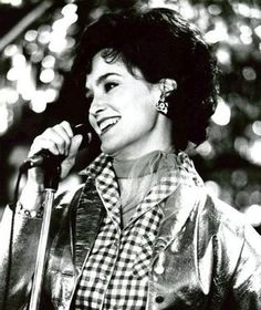 jessica lange as Country Music Legend Patsy Cline in Sweet Dreams.