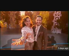 Dwts! Ginger Zee and Val Chmerkovskiy as Ginger Rogers and Fred Astaire
