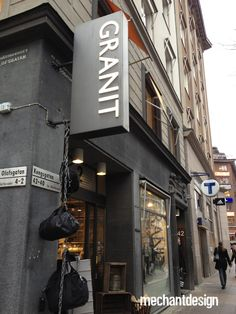 Granit, Swedish design store, that I just can't get enough off when visiting the store on Kungsgatan in Stockholm