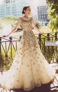 Huma Abedin's Oscar De La Renta wedding gown.  Dream dress!