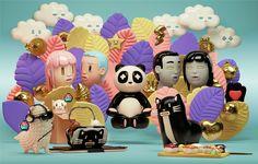 """다음 @Behance 프로젝트 확인: """"Mr. Kat & Friends collection 02"""" https://www.behance.net/gallery/41532705/Mr-Kat-Friends-collection-02"""