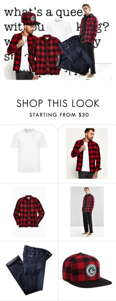 """Untitled #7296"" by tailichuns on Polyvore featuring Versace, Superdry, Urban Outfitters, 7 For All Mankind, Aéropostale, men's fashion and menswear"