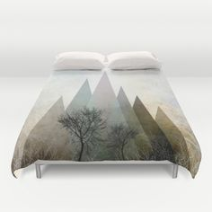 Sold ~ thank you dear unknown Buyer! #bestseller TREES IV Duvet Cover by Pia…