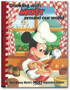 Book Update: Disney Recipe and Cookbooks