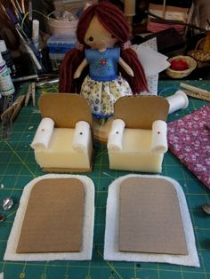 Make a chair for a doll - The site for moms toddlers