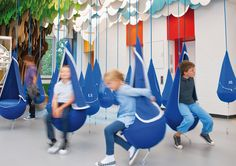 amazing spaces Henkel Forscherwelt [Learning Environment] client Henkel AG Co… Playground Design, Indoor Playground, Playground Ideas, Architecture Restaurant, Bibliotheque Design, Kindergarten Design, Red Dot Design, Kids Play Area, Play Centre