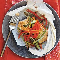 Arctic Char and Vegetables in Parchment Hearts | How To Cook Fish If You Hate Cooking