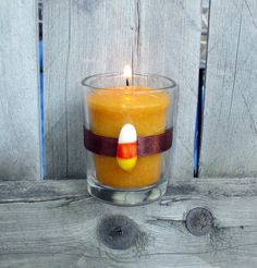 Fall Wedding Decoration / Wedding Votive by CarolesWeddingWhimsy, $19.99, set of 6, These Candy Corn Votive Candle Holders are perfect for a fun Fall Wedding Decoration, Halloween Decoration, Harvest Decoration, Thanksgiving Decoration or your own home.  The chocolate brown is perfect with the candy corn.  Check them out https://www.etsy.com/listing/199892375/fall-wedding-decoration-wedding-votive