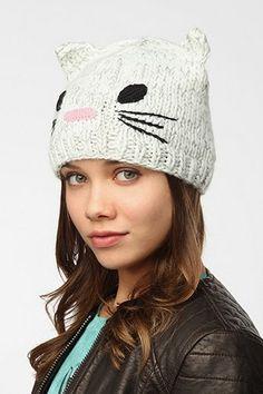 kitty beanie <3