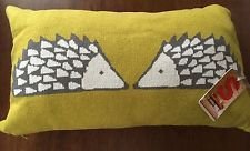 Spike knitted hedgehog cushion by Scion Living BNWT RRP £42