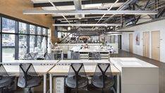 Lundberg Design's Autodesk Workshop is an Industrial Chic Drea...