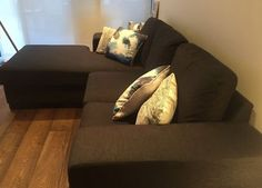 Oz Design grey fabric sofa | Sofas | Gumtree Australia Bayside Area - Brighton | 1144237757