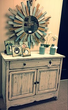 Shabby Chic Dresser and accessories @ OP Jenkins Furniture and Design