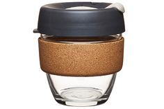 "A solid glass cup with a soft cork sleeve is just the ticket for bringing coffee on the go without resorting to those tiresome travel mugs.<br /> <strong><a href=""http://www.clivecoffee.com/product/keepcup_brew_le_cork_8_press.html"" target=""blank"">KeepCup Brew Limited Edition Cork 8oz Press</a>, $30</strong>"