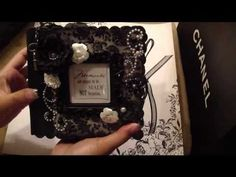 Scrapbooking 'Remember This is Your Time' Mini Album (BM DT Project).m4v - YouTube