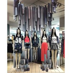 """H&M,London,UK, """"It was the thing they had trained for over and over again....until they could do it with their eyes closed"""", pinned by Ton van der Veer"""