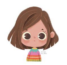 easy to draw Cartoon Cartoon, Cartoon People, Cartoon Drawings, Cute Drawings, Cartoon Illustrations, Art And Illustration, Character Illustration, Kid Character, Character Drawing