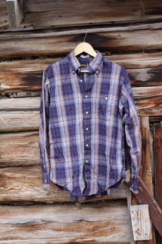 Nordstrom Plaid Shirt by TheResourcefulMan on Etsy, $15.00