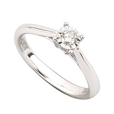 simple and classy. if it was a princess cut, it'd be my ideal wedding ring!