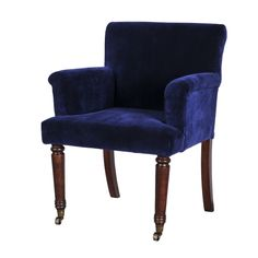 navy dining chair | MASTERS DINING CHAIR - VELVET SPORTING NAVY | Oxford by Timothy Oulto ...