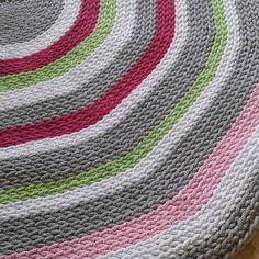 Bliźniak nr 1 gotowy  #thebigone #carpet #cottonrow #handmade #homedesign #babyroom #kidsroom #crochet #crochetersofinstagram #duzy #dywan #dywanik #sznurekbawełniany #sznurek #pokojdziecka #wyposażeniewnętrz #wnetrza #szydełko #rekodzielo by robotki.karolka