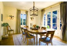 A #simple dining room. #decor  St. Helena, CA Listed by Coldwell Banker Brokers of the Valley