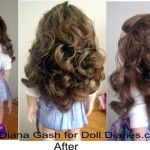 Diana here - Juliet XD had a question recently about how to restore Addy's hair and whether or not she should just re-wig it. Re-wigging is my last resort, since it will de-value the original doll. I have not met a doll's hair that defeated me. I only ...