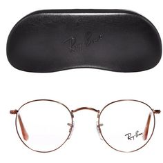 Ray-Ban Round Glasses (1.700 HRK) ❤ liked on Polyvore featuring  accessories, eyewear, eyeglasses, glasses, round glasses, metal frame  glasses, ... 63826012fe