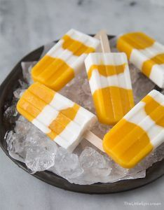 Coconut Mango Popsicles | One of 10 Gourmet Popsicle Recipes on the Blog