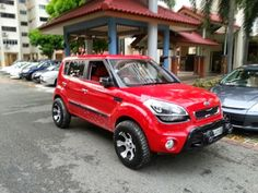 Imagine the places and things this has seen. A tip of the hat to the owner. This is surely a one of a kind. Kia Soul 2015, Soul Family, Kia Motors, Lift Kits, Cool Trucks, Honda Civic, Dream Cars, This Or That Questions, Future Car