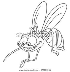 Find Cute Happy Hungry Bloodsucking Cartoon Mosquito stock images in HD and millions of other royalty-free stock photos, illustrations and vectors in the Shutterstock collection. Thousands of new, high-quality pictures added every day. Cartoon Eyes, Cartoon Drawings, Cartoon Mosquito, Bug Art, Funny Character, Tattoos For Women Small, Funny Cartoons, Coloring Pages For Kids, Art Sketches