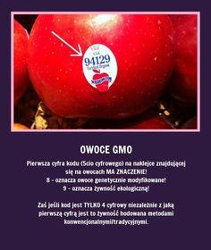jeeedzonkoo i nie tylko Owoce GMO - Czyli jak czytać kody! Daily Life Hacks, Good Advice, Kitchen Hacks, Better Life, Good To Know, Home Remedies, Health Tips, Fun Facts, Projects To Try