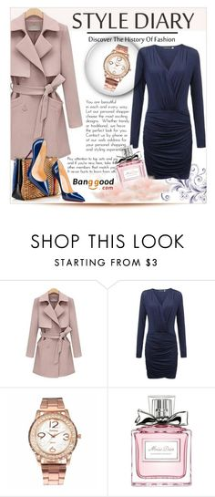 """Banggood #8"" by edita-m ❤ liked on Polyvore featuring Christian Dior and Christian Louboutin"
