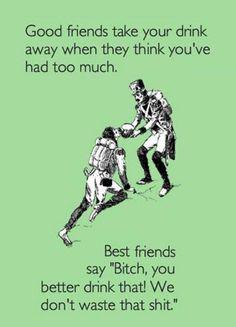 Funny ecard - Good friends