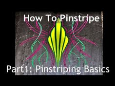 How To Pinstripe: Custom Pinstripes with Rick Harris & Kevin Tetz - Pt.1 of 3 - Eastwood - YouTube