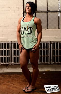 "Flag nor fail mint ""never settle"" tank"